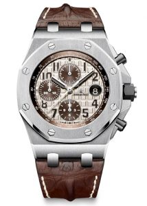 Replica AP Royal Oak Offshore Safari Chronograph 26470ST.00.A801CR.01